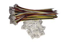 15 SETS JST PH 2.0MM 4 Pin Female Single Connector with Wires 100MM US SHIPPING