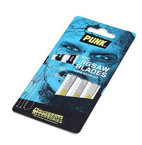 PUNK® Wood Cutting Jigsaw Blades (5 Pack) T101B *Authorised Distributors*