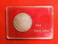 Japan Silver Coin 1000 Yen Tokyo Olympics 1964 With Case S#29