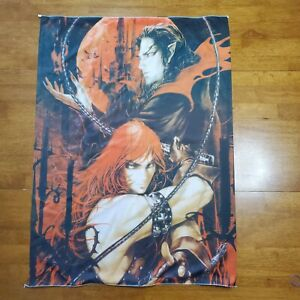 "Castlevania Chronicles Anime Wall Scroll Art Silk Fabric Poster Print 29"" x 39"""