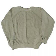 ISABEL MARANT ETOILE Olive Raglan Sleeve Sweatshirt Size38(M)