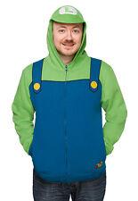 Licensed Nintendo Super Luigi Costume Hoodie  **Brand New**