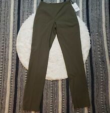 NWT Worth New York Women's Green Wool Business Pants Size 0