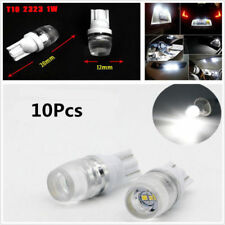 10Pcs 6500K Wedge High Power 1W Xenon White LED Light Bulbs W5W 194 168 192 12V