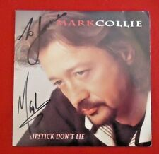 Martk Collie Autographed Signed CD Lipstick Don't Lie Circuit City Speed of Soun