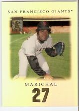 JUAN MARICHAL SP RARE 2001 TOPPS TRIBUTE SET 23 SAN FRANCISCO GIANTS HOF
