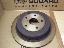 Genuine OEM Subaru Tribeca Rear Brake Rotor  2006 - 2014  (26700XA00A)