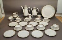 Rosenthal Kaffeeservice Form 2000 12 Personen Entwurf Raymond Loewy (1893-1986)