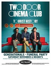 TWO DOOR CINEMA CLUB 2010 Gig POSTER Seattle Washington Concert