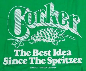 Corker The Best Idea Since Spritzer Haynes T-Shirt L (42-44) Made in U.S.A.