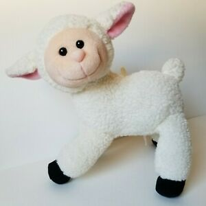 "Wind Up Musical Lamb Plush ""Sunshine"" Sheep White Stuffed Animal Papel Baby Gift"