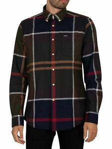 Barbour Men's Dunoon Tailored Shirt, Multicoloured