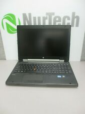 HP EliteBook 8570w i5-3320M 2.6GHz 8GB/500GB DVD/RW Webcam Linux Laptop + AC