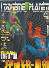 Revue Dixième Planète N°17 Juin 2002 Spider-man Star Wars Goldorak
