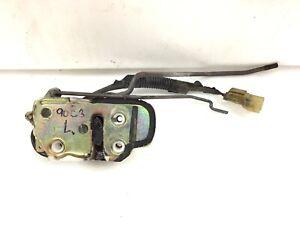 90 91 Civic 3DR Hatchback Left Door Latch Manual Lock Used OEM