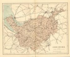 original 1868 colour map of cheshire !