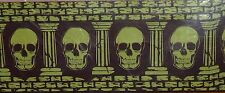 Skull Wall Banner Decoration, Haunted House Decor, Halloween Wall Mural 25 Foot