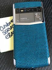 Genuine Brand NEW Vertu Signature Touch Night Forest Lizard Extremely RARE