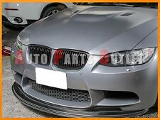 Gloss Black Front Kidney Grill Grille For BMW 08-13 E90 E92 E93 M3 2Dr/4Dr