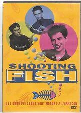 DVD SHOOTING FISH nickolas grace claire cox ralph ineson