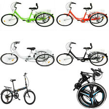 """Adult Bicycle 24"""" Adult Tricycle 1/7 Speed 3-Wheel /21 Speed 26in /7 Speed 20in."""