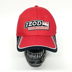 Izod Indycar Series Honda Firestone Fitted Baseball Hat Cap Red Embroidered