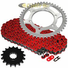 Red O-Ring Drive Chain & Sprocket Kit Fits YAMAHA R1 YZF-R1 2004-2008