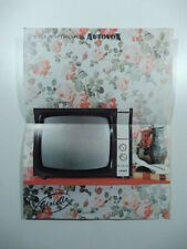 Televisore Autovox. Pieghevole pubblicitario anni Cinquanta
