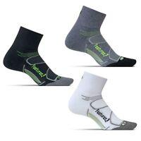 Feetures Elite Max Cushion Quarter Tab Socks