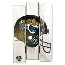 "JACKSONVILLE JAGUARS FENCE WOOD SIGN 11""X17'' BRAND NEW FREE SHIPPING WINCRAFT"