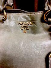 Authentic PRADA MADE IN ITALY RARE DESIGN  SUPERB CONDITION SHOULDER BAG XL