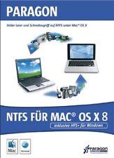 Paragon NTFS für MAC OS X 8 inkl HFS+ für Windows NEU
