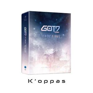 K-pop GOT7 1st Concert FLY IN SEOUL FINAL DVD[3 DISC]+P.Book+Poster+7p Photocard