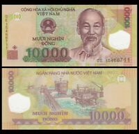 VIETNAM 10000 (10,000) Dong, 2017, P-119, Ho Chi Minh, UNC World Currency