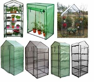 Plastic PVC PE Greenhouse Growhouse Covers & Frame Garden Plant Grow Storage Bag