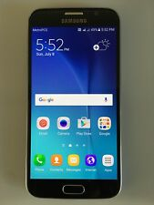 "Samsung Galaxy S6 SM-G920A AT&T Unlocked 32GB Android 5.1"" Smartphone Black"