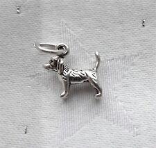 beagle Hound Hund klein 3D 925 Charm Sterlingsilber