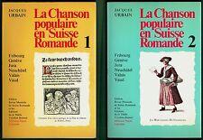 Rare - La Chanson populaire en Suisse Romande, 2 tomes, Urbain, Musique Fribourg