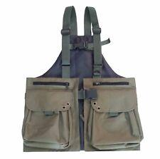 New Falconry Vest, Hunting, Dog, Shooting, Hawking, Bird Handling Cordura Vest,L