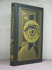 with bookplate signed by author, Psycho by Robert Bloch, Easton Press