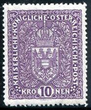 ÖSTERREICH 1917 211IA ** POSTFRISCH TADELLOS BEFUND BPP 150€(I1502
