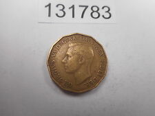 1949 Great Britain Three Pence - Key Date Album Coin Mintage 464,000 - # 131783