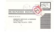 POSTAGE DUE-Sc#J95-7cents-NASHUA N.H. NOV/19/1969-BUSINESS REPLY-SCARCE-staple