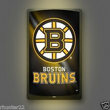 Boston Bruins NHL Licensed MotiGlow™ Light Up Sign - Free USA shipping!