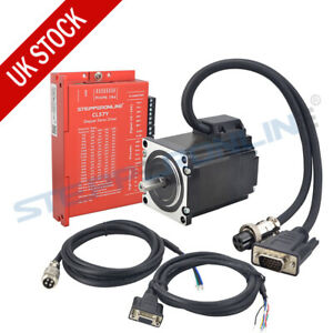 1.2Nm Nema 23 Closed Loop Stepper Motor 4A 56mm & Servo Driver CL57Y CNC Kit