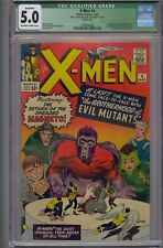 X-MEN #4 CGC 5.0 2ND MAGNETO 1ST QUICKSILVER SCARLET WITCH & TOAD
