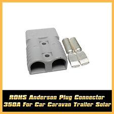 ATV RV Car 350 AMP CONNECTOR PLUG 350A TRAILER DUAL BATTERY ANDERSON STYLE PLUG