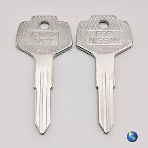 DA27 Key Blanks for Various Models by Daewoo, Nissan, and others (5 Keys)