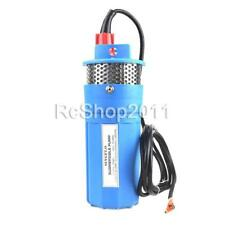 24V Submersible Deep DC Solar Well Water Pump Solar Battery Alternative Energy