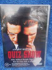 QUIZ SHOW ROBERT REDFORD,JOHN TURTURRO,RALPH FIENNES, DVD M R4